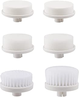 PIXNOR 6 Pieces Replacement Brush Heads ONLY for OUR corresponding 7in1 Facial Brushes
