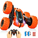 Remote Control Car,2.4GHz Electric Race RC Stunt Car, Double Sided 360°Flips Rotating Vehicles with...