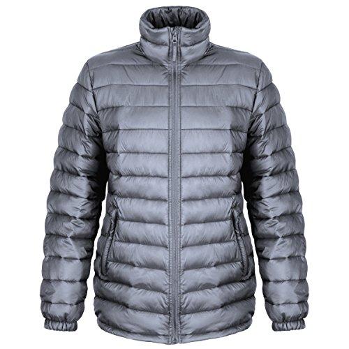 Result Damen Steppjacke, wasserabweisend, Winddicht (XL) (Frost Grau)