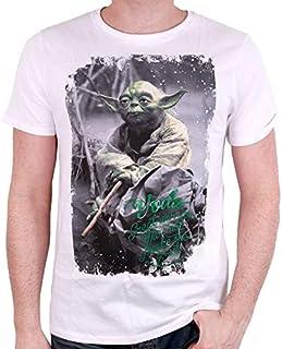 4c0fd0ed11300 Tshirt Exclu Star Wars - Yoda May The Force