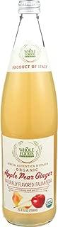 Whole Foods Market, Organic Apple Pear Ginger Italian Soda, 25.4 fl oz