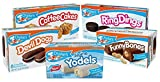Drake's Variety Pack - Alpine Yodels, Ring Dings, Devil Dogs, Funny Bones, and Coffee Cake...