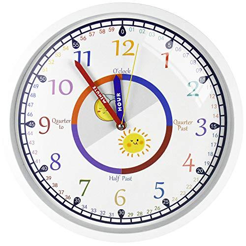 orologio da parete per bambini DORBOKER Orologio da parete per bambini per camera da letto