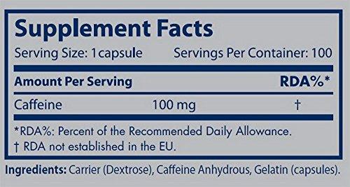 Scitec Nutrition Caffeine - 100 Cápsulas