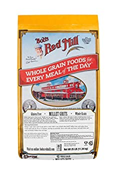 Bob s Red Mill Whole Grain Millet Grits 25 Pound