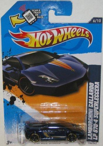 Hot Wheels All Stars '12-Lamborghini Gallardo LP 570-4 Superleggera.