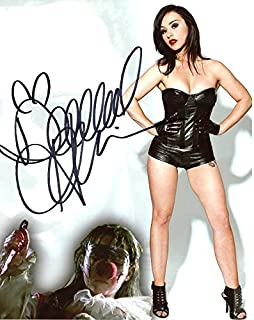 Danielle Harris SEXY BLACK CORSET In Person Autographed PhotoPrivate Signing