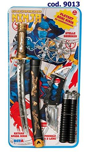 Play Set Armi Guerriero Ninja Materiale affidabile Divertimento assicurato