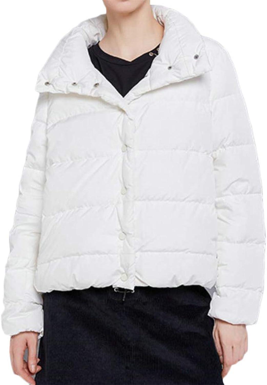 JSY Women's Vogue TurtleNeck Outerwear Thicken Winter Warm Down Jacket