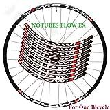 Moto Pegatina Pegatinas de llanta de Rueda para Bicicleta de montaña Bicicleta 26 27.5 29 Pulgadas MTB Calcomanías de Ciclismo (Color : 29er Green)