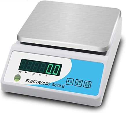 GLJJQMY Precision Electronic Scales Household Body Scales Adult Weight Scales Electronic Scales Health Scales Weighing Equipment Electronic Scale (Capacity : 10kg, Color : 6kg)