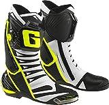 Gaerne - Zapatillas de ciclismo para hombre negro, blanco y amarillo 44