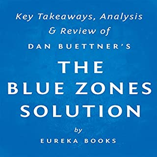 The Blue Zones Solution by Dan Buettner: Key Takeaways, Analysis, & Review cover art