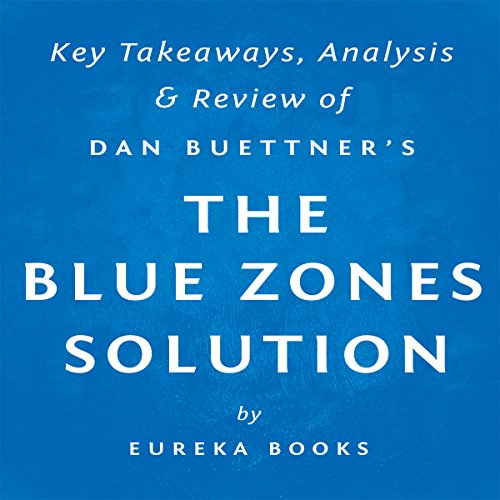 The Blue Zones Solution by Dan Buettner: Key Takeaways, Analysis, & Review audiobook cover art
