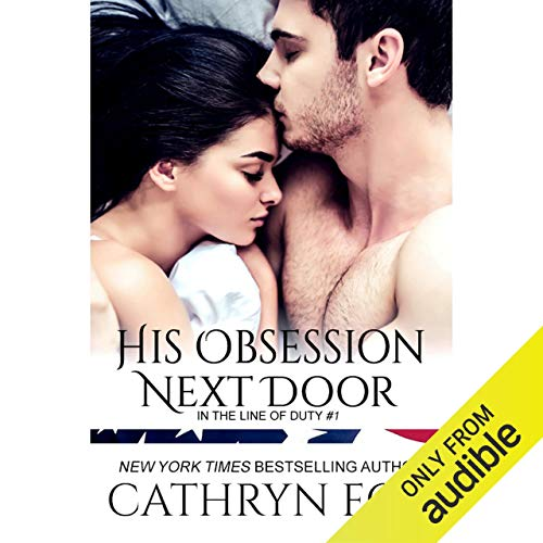 His Obsession Next Door audiobook cover art