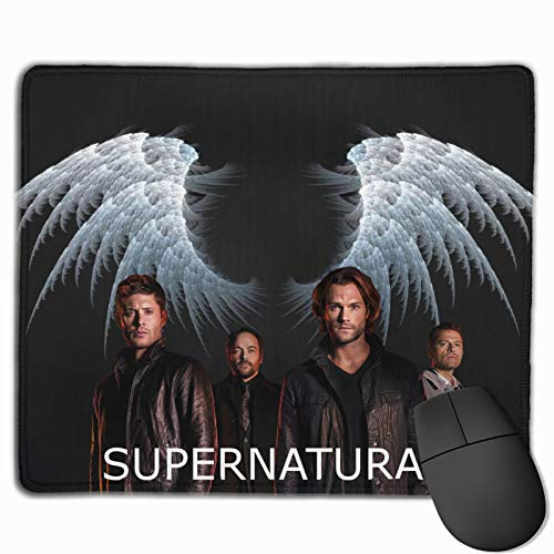 S-Uper-Natural Water Resistant Waterproof Mouse Pad Ergonomic with Design Personalized Keyboard Mat Stitched Edges Super Mouse Mat Natural for Games Office Laptop Accessories 9.8 x 11.8 inch