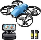 Potensic Drone con Telecamera HD Mini Drone Telecomando Quadricottero FPV WiFi modalità Senza...