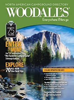 Woodall's North American Campground Directory, 2011 (Good Sam RV Travel Guide & Campground Directory)