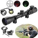 MCTECH® Zielfernrohr 3-9x40EG Rot Und Grün Taktische Luftgewehr Armbrust Rifle Scope...