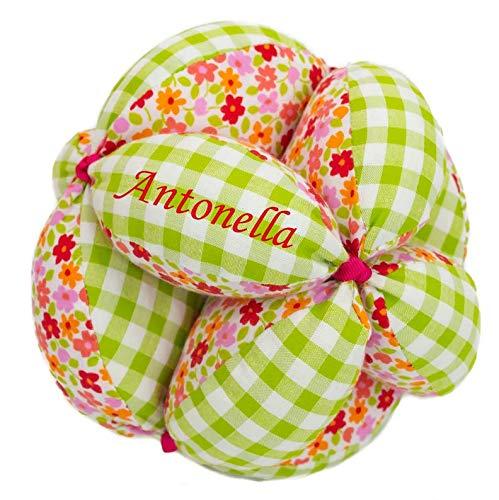 Borda y más Montessori Personalizada de Tela para bebé (Liberty ...