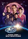 Star Trek Enterprise Filmposter – Beste Druck-Kunstreproduktion Qualität Wanddekoration Geschenk – A3 Poster (16,5/29,7 cm) – (42/30 cm) – Hochglanz-Fotopapier