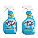 Clorox Bathroom Foamer with Bleach, Spray Bottle, Original, 30 Ounces (Pack of 2)