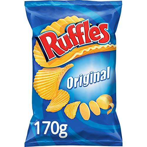 Ruffles -Original - Patatas Fritas con Sal - 170 g