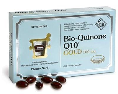 Pharma Nord Bio-Quinone Q10 Gold Capsules 100mg 60 Capsules