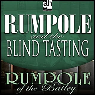 Rumpole and the Blind Tasting audiobook cover art