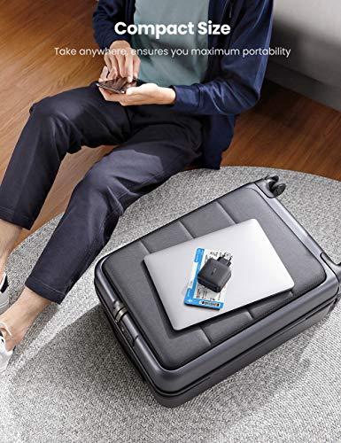 UGREEN USB C Ladegerät 65W Power Delivery mit GaN Tech USB C Netzteil 4 Ports Charger kompatibel mit 13''MacBook Pro, MacBook Air, iPhone 12 Pro, Dell XPS 13, HP Spectre, Galaxy S20, Switch usw.