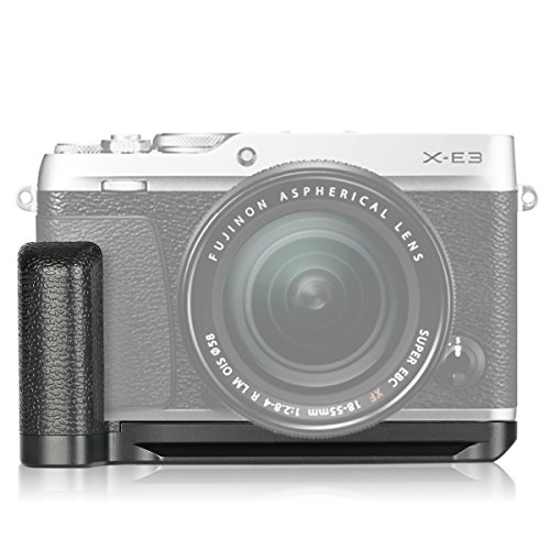 Meike MK-XE3G Metal Hand Grip Bracket Holder for Fujifilm X-E3 Camera