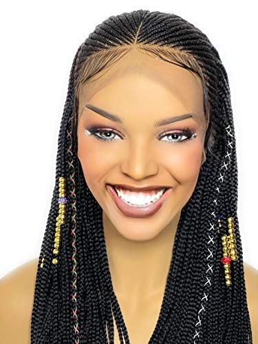 braided wigs for black women human hair lace front