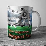 The Jaguares Biggest Fan Rugby taza/taza – regalo de cumpleaños/relleno de calcetines