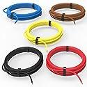 AUPROTEC Fahrzeugleitung 0,75 mm² Set 5 Farben à 10m FLRY-B als Ring