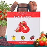 Nature's Blossom Tomato Garden Kit. Grow 4 Types of Tomatoes from...