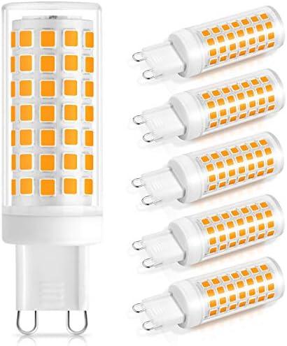 G9 LED Bulb 60W Halogen Equivalent 88PCS LED Light Bulbs No Flicker 700LM 3000K Soft Warm White product image