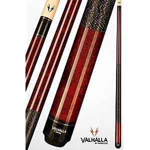 VIKING Valhalla 2 Piece Pool Cue Stick with Irish Linen Wrap VA120 (19oz, Mahogany)