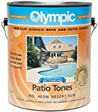 Olympic Patio Tones Deck Coating - Desert Sun - 6 Pack