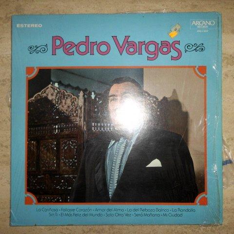 Pedro Vargas - Soy Puro Mexicano / Lo que me gusta de la nueva Ola - Arcano DKL 3227 // Vinyl Record