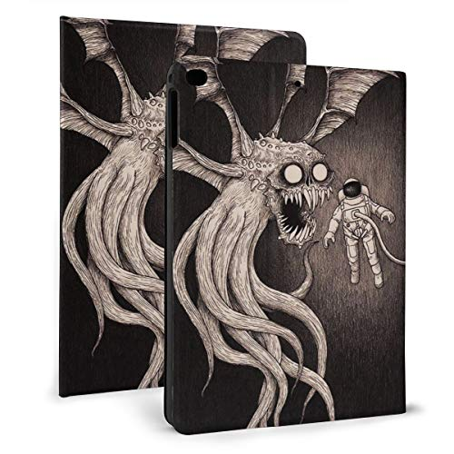 Horror Creepy Monster Astronaut - Custodia protettiva per iPad Mini 4/5 da 7,9 cm, con funzione di supporto e spegnimento automatico per tablet Apple iPad
