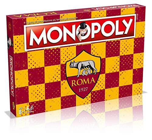Winning Moves Gioco da Tavolo-Monopoly Squadre di Calcio-Roma Edizione da Collezione, 31288