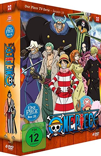 One Piece - TV-Serie Box Vol. 20 (Episoden 602-628)