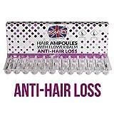 Ronney - Ampollas anti pérdida de cabello con bálsamo de flores, tratamiento intensivo para el cuidado del cabello, crecimiento del cabello, 12 x 10 ml