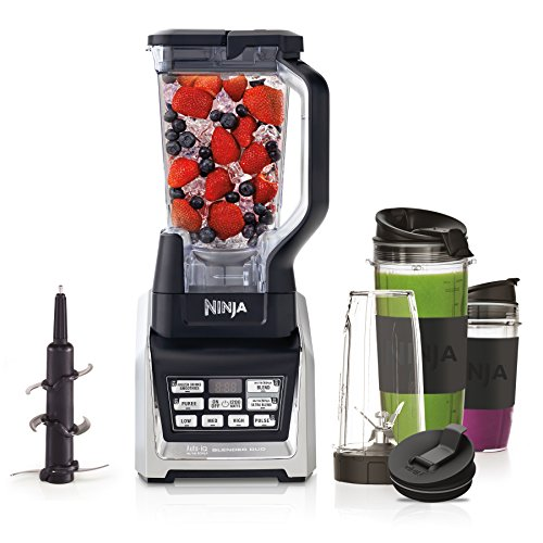 Ninja Duo 2-in-1 Blender [BL642UK] with Auto iQ, 1500 W