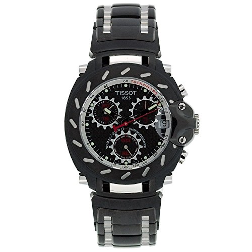 Tissot T-Race T0114172220100 - Reloj de Caballero de Cuarzo, Correa de Acero Inoxidable Color