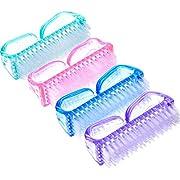 Handwaschbürste Nagelbürste aus Kunststoff, 4 Stück