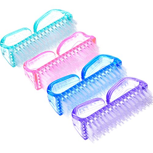 Cepillo de Uñas de Plástico