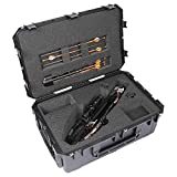 SKB iSeries Ravin R26 and R29 Heavy Duty Watertight Ultra Strength Military Grade Crossbow Case with Comfort Grip Handle, Black
