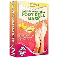 Mascarilla exfoliante para pelar los callos y durezas de pies - 2 pares - Elimina piel muerta y seca - Baby foot peel en 7 días, calcetines exfoliantes de pies - Foot Peeling Mask - Callos pies