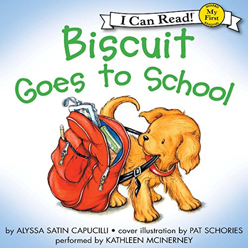 Biscuit Goes to School audiobook cover art